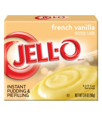 Jell-O Instant Pudding French Vanilla 3.4oz (96g) Jelly & Puddings Jell-O