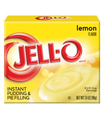 Jell-O - Lemon Instant Pudding - 3.4oz (96g) Jelly & Puddings Jell-O