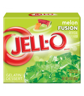 Jell-O Melon Fusion 3oz (85g) Jelly & Puddings Jell-O