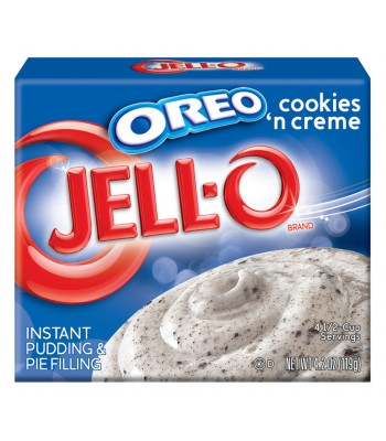 Jell-O - Oreo Cookies and Creme Dessert - 4.2oz (119g) Jelly & Puddings Jell-O