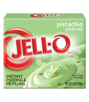 Clearance Special - Jello Pistachio instant pudding 3.4oz ** February 2017 ** Clearance Zone