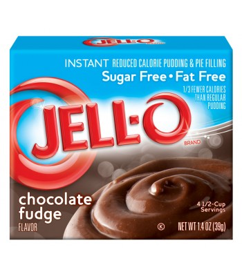 Jell-O - Chocolate Fudge Instant Pudding - Sugar Free - 1.4oz (39g) Food and Groceries Jell-O