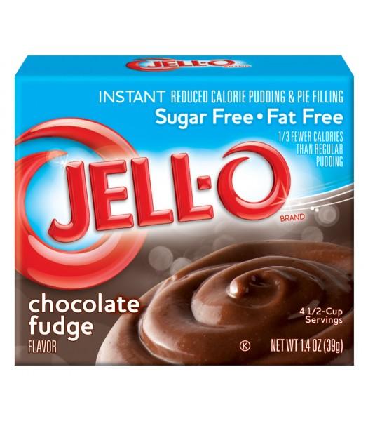 Jell-O Sugar Free Chocolate Fudge Instant Pudding 1.4oz (39g) Jelly & Puddings Jell-O