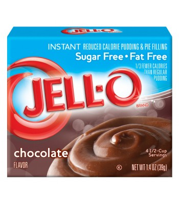 Jell-O Sugar Free Chocolate Instant Pudding 1.4oz (40g) Jelly & Puddings Jell-O