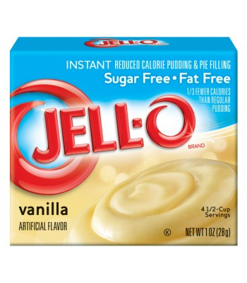 Jell-O Sugar Free Vanilla Instant Pudding 1oz (28g) Jelly & Puddings Jell-O