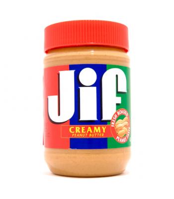 Jif Creamy Peanut Butter 16oz (454g) Peanut Butter & Spreads Jif