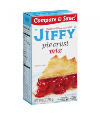 Jiffy Pie Crust Mix 9oz (255g) Food and Groceries Jiffy