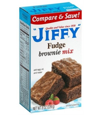 Jiffy Fudge Brownie Mix 8oz (226g) Food and Groceries Jiffy