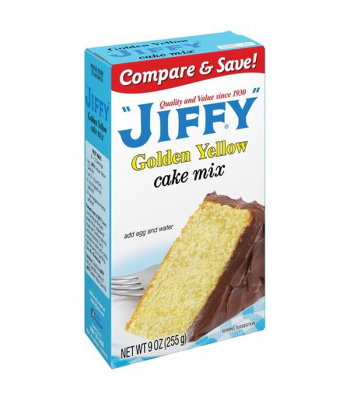 Jiffy Golden Yellow Cake Mix 9oz (255g) Food and Groceries Jiffy