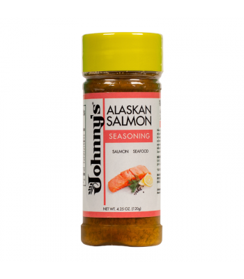 Johnny's Alaskan Salmon Seasoning - 4.25oz (120g) - 6CT Food and Groceries