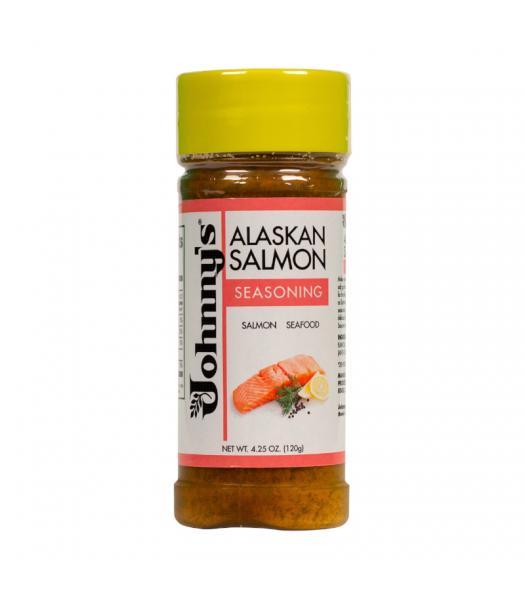 Johnny's Alaskan Salmon Seasoning - 4.25oz (120g) - 6CT Food and Groceries