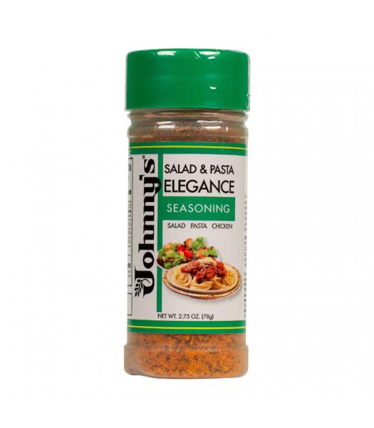 Johnny's Salad & Pasta Elegance Seasoning - 2.75oz (78g) Food and Groceries