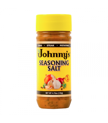 Johnny's Seasoning Salt - 4.75oz (135g) Food and Groceries