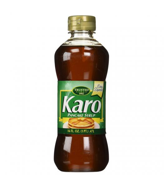 Karo Pancake Syrup (Green Label) - 16fl.oz (473ml) Food and Groceries