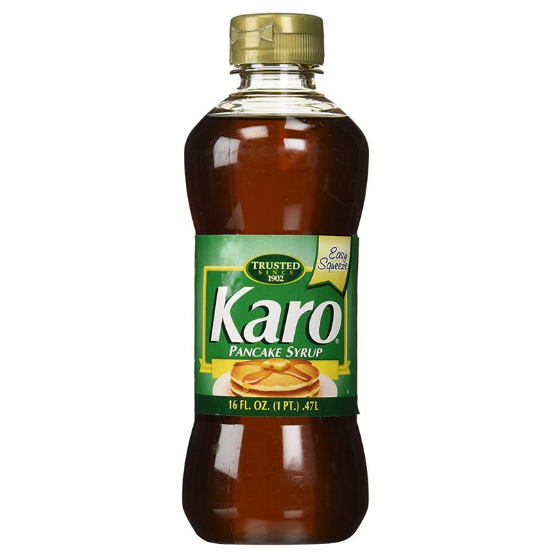 Karo pancake syrup green label 473ml for Cuisine karo