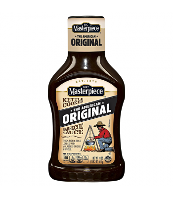 KC Masterpiece Original Barbecue Sauce 18oz (510g) Food and Groceries KC Masterpiece
