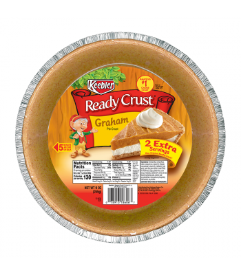 Keebler Ready Crust 10 Inch Graham Pie Crust - 9oz (255g) Food and Groceries Keebler