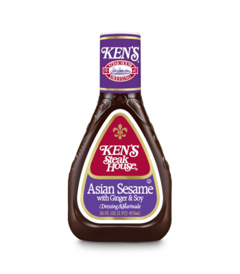 Ken's Asian Sesame Dressing - 16oz (473ml) Food and Groceries Ken's