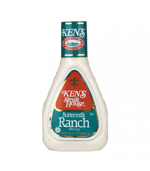Ken's Steak House - Buttermilk Ranch Dressing - 16fl.oz (473ml) Food and Groceries Ken's
