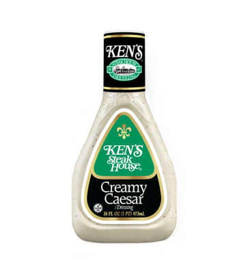 Ken's Steak House - Creamy Caesar Dressing 16fl.oz (473ml) Food and Groceries Ken's