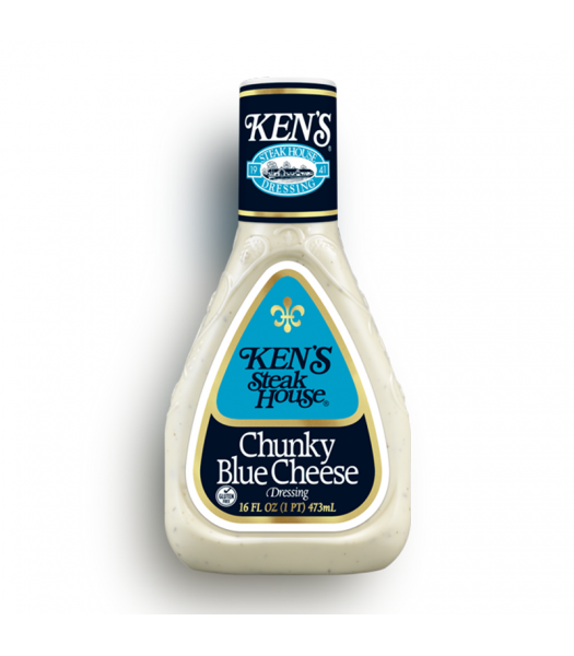 Ken's Steak House - Chunky Blue Cheese Dressing 16fl.oz (473ml) Food and Groceries Ken's