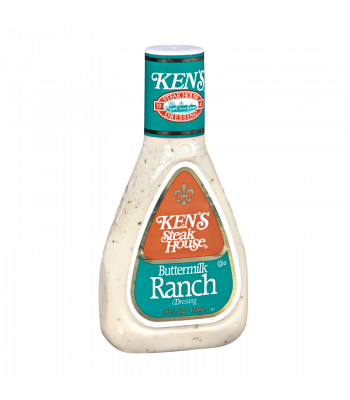 Ken's Steak House - Buttermilk Ranch Dressing - 16fl.oz (473ml) Food and Groceries Ken's