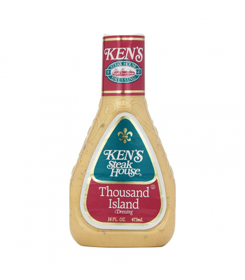 Ken's Steak House - Thousand Island Dressing - 16fl.oz (473ml) Food and Groceries Ken's