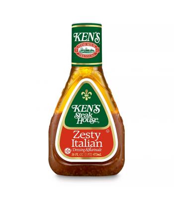 Ken's Zesty Italian Dressing - 16fl.oz (473ml) Food and Groceries Ken's