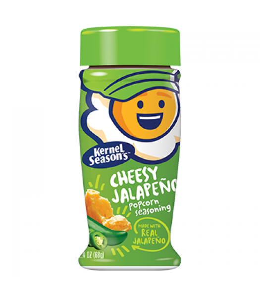 Kernel Season's Cheesy Jalapeño Seasoning 2.85oz (80g)