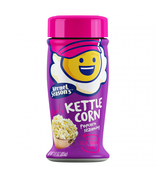 Kernel Season's Kettle Corn Seasoning 2.85oz (80g) Spices & Seasonings