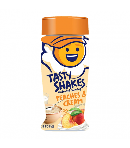 Clearance Special - Kernel Season's Sweet Shakes Oatmeal Mix-Ins - Peaches & Cream - 3oz (85g) **Best Before: 13 Jan 20** Clearance Zone