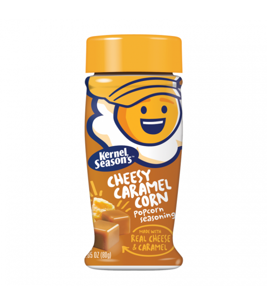 Kernel Season's Cheesy Caramel Corn Seasoning - 2.85oz (80g) Food and Groceries Kernel Season's