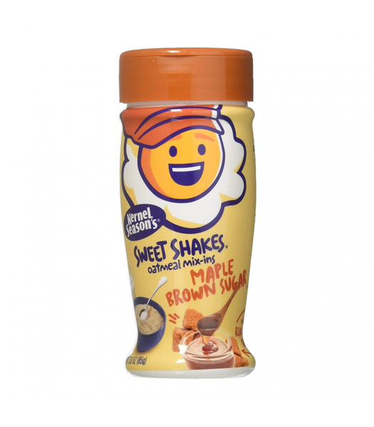 Kernel Season's Tasty Shakes Oatmeal Mix-Ins - Maple Brown Sugar - 3oz (85g) Food and Groceries Kernel Season's