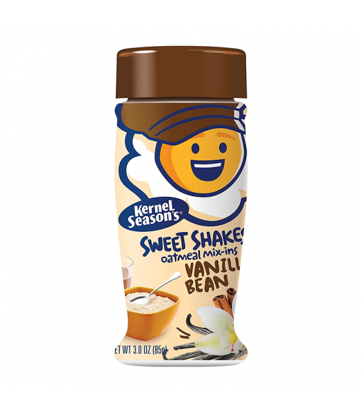 Kernel Season's Sweet Shakes Oatmeal Mix-Ins - Vanilla Bean - 3oz (85g) Food and Groceries Kernel Season's