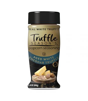 Truffle Season's Popcorn Seasoning - Aged White Cheddar Truffle - 2.4oz (68g) Spices & Seasonings
