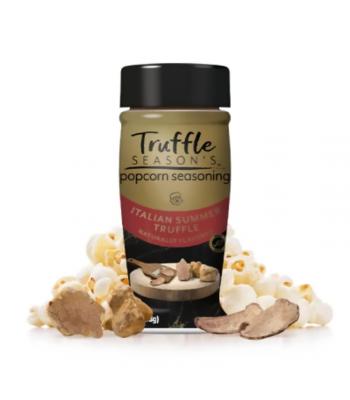 Truffle Season's Popcorn Seasoning - Italian Summer Truffle - 2.4oz (68g) Spices & Seasonings