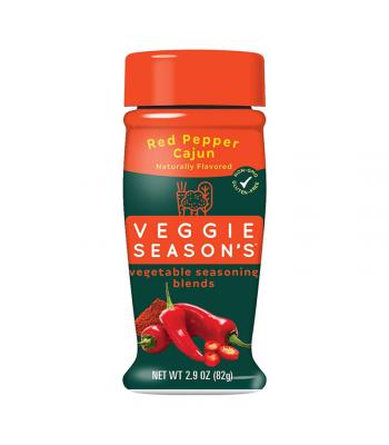 Veggie Season's Vegetable Seasoning Blends - Red Pepper Cajun - 2.9oz (82g) Spices & Seasonings