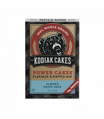 Kodiak Cakes Almond Poppyseed Power Cakes Mix - 18oz (510g) Food and Groceries