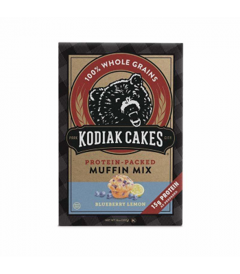 Kodiak Cakes Blueberry Lemon Protein Muffin Mix - 14oz (396g) Food and Groceries