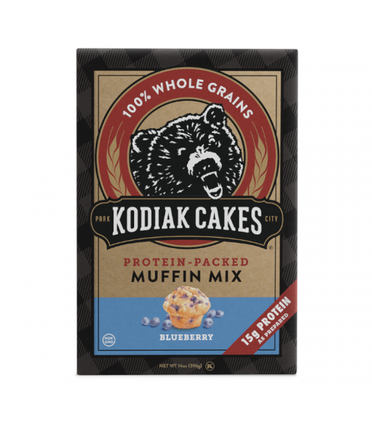 Kodiak Cakes Blueberry Muffin Mix - 14oz (396g) Food and Groceries Kodiak Cakes