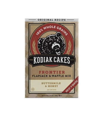 Kodiak Cakes Buttermilk Honey Flapjack Waffle Mix – 24oz (680g) Food and Groceries