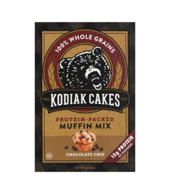 Kodiak Cakes Chocolate Chip Muffin Mix - 14oz (396g) Food and Groceries