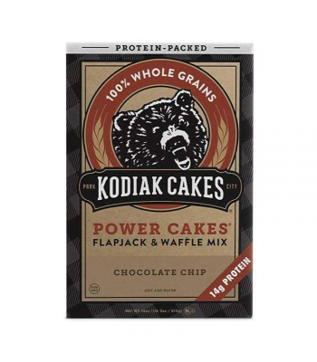 Kodiak Cakes Chocolate Chip Power Cakes Mix - 18oz (510g) Food and Groceries