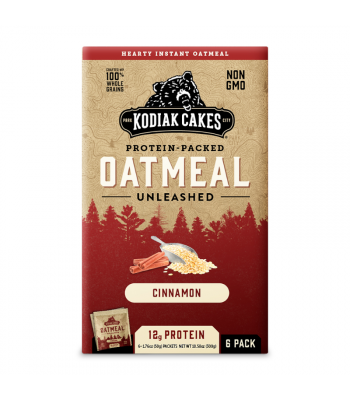 Kodiak Cakes Cinnamon Oatmeal - 10.58oz (300g) Food and Groceries Kodiak Cakes