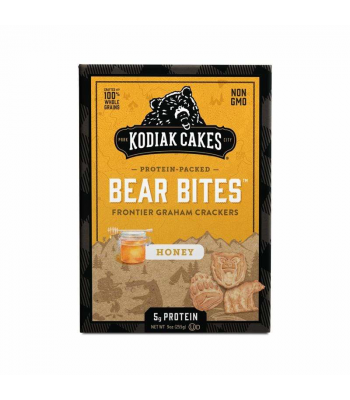 Kodiak Cakes Graham Bear Bites Honey Baked Crackers - 9oz (255g) Snacks and Chips Kodiak Cakes