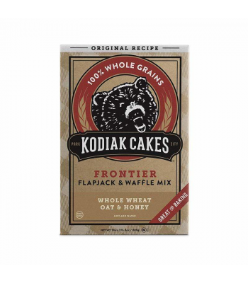 Kodiak Cakes Whole Wheat Oat & Honey Flapjack & Waffle Mix - 24oz (680g) Food and Groceries Kodiak Cakes