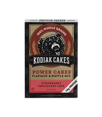 Kodiak Cakes Strawberry Chocolate Chip Power Cakes Mix - 17oz (481g) Food and Groceries