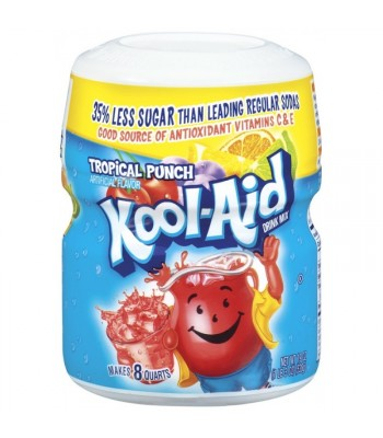 Clearance Special - Kool Aid Tropical Punch 538g Tub **Best Before: 28 April 18** Clearance Zone