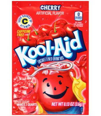 Kool Aid Cherry 3.6g Drink Mixes Kool Aid