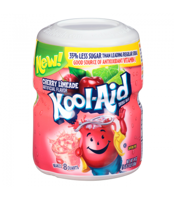 Kool Aid Cherry Limeade Tub - 19oz (538g) Soda and Drinks Kool Aid